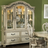 Liberty 837-CB6384-CH6384 Messina Estates II Buffet with hutch