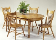 Liberty 85-T1576-C1465S Furniture 85-T1576 BUTTERFLY LEAF Dining Set