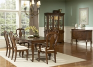 Liberty 908-T4284-4XC3000 Louis Philippe Rectangular Leg Table Dining set