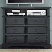 Liberty 917-BR45 Carrington II Media Chest