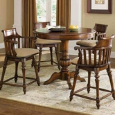 Liberty 97-PUB4242-B-4XB150124 Crystal Lakes Round Pub Table Dining set