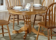 Liberty Furniture 10-T510-P Nostalgia Round Pedestal Table (10-T510)