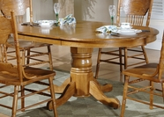 Liberty Furniture 10-T520-P Nostalgia Oval Pedestal Table (10-T520)