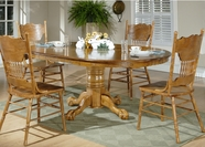 Liberty Furniture 10-T521-C517S Nostalgia Single Pedestal Table Casual Dining Set