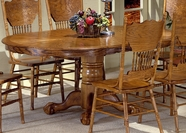 Liberty Furniture 10-T521-P Nostalgia Single Pedestal Table (10-T521)