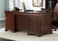 Liberty Furniture 101-HO105B-T Louis Jr Executive Desk (101-HO105B)