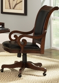 Liberty Furniture 101-HO193 Louis Executive Office Chair