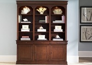 Liberty Furniture 101-HO200B-T Louis Jr Executive Bookcase (101-HO200B)