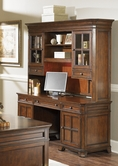 Liberty Furniture 114-HO120-131 Remington Jr Executive Credenza with Hutch (114-HO120B)