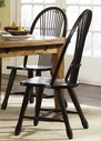 Liberty Furniture 17-C4032 Treasures Sheaf Back Side Chair - Black