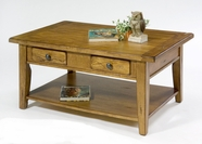 Liberty Furniture 17-OT1001 Treasures Rectangular Cocktail Table - Oak