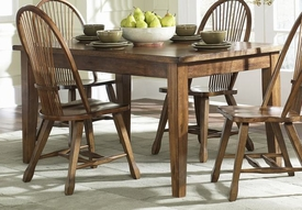 Liberty Furniture 17-T3660 Treasures Solid Top Leg Table - Oak