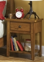 Liberty Furniture 176-BR60 Grandpa's Cabin Leg Night Stand