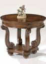 Liberty Furniture 187-OT1020 Victorian Manor Round End Table