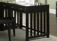 Liberty Furniture 717-HO111 Hampton Bay Black Writing Desk