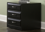 Liberty Furniture 717-HO146 Hampton Bay Black Mobile File Cabinet