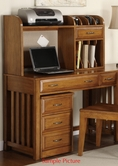 Liberty Furniture 719-HO111 Hampton Bay Oak Writing Desk