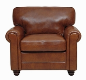 Luke Leather ANDREW-C-2511-HAVANA ANDREW-C CHAIR in 2511 HAVANA Color
