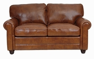 Luke Leather ANDREW-L-2511-HAVANA ANDREW-L LOVESEAT in 2511 HAVANA Color