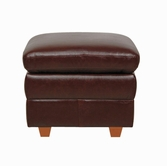 Luke Leather AUSTIN-O-153-SIENNA AUSTIN-O STORAGE OTT in 153 SIENNA Color