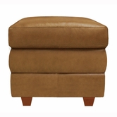 Luke Leather AUSTIN-O-2552-WHEAT AUSTIN-O STORAGE OTT in 2552 WHEAT Color