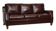 Luke Leather AUSTIN-S-153-SIENNA AUSTIN-S SOFA in 153 SIENNA Color