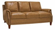 Luke Leather AUSTIN-S-2552-WHEAT AUSTIN-S SOFA in 2552 WHEAT Color