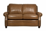 Luke Leather BENNETT-L-2552-WHEAT BENNETT-L LOVESEAT in 2552 WHEAT Color