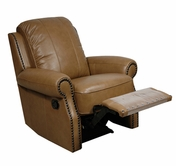 Luke Leather BENNETT-R-2552-WHEAT BENNETT-R RECLINER in 2552 WHEAT Color