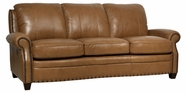 Luke Leather Bennett Leather Sofa Set