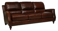 Luke Leather BRADFORD-S-2547-CHESTNUT BRADFORD-S SOFA in 2547 CHESTNUT Color