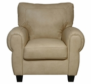 Luke Leather JACKSON-C-2524-CAPPUCINO JACKSON-C CHAIR in 2524 CAPPUCINO Color