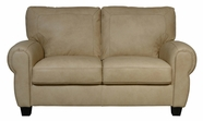 Luke Leather JACKSON-L-2524-CAPPUCINO JACKSON-L LOVESEAT in 2524 CAPPUCINO Color