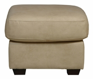 Luke Leather JACKSON-O-2524-CAPPUCINO JACKSON-O OTTOMAN in 2524 CAPPUCINO Color