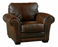 Luke Leather MARK-C-150-WHISKEY MARK-C CHAIR in 150 WHISKEY Color
