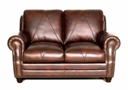 Luke Leather SOLOMON-L-2520-CHOCA SOLOMON-L LOVESEAT in 2520 CHOCA Color