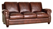 Luke Leather SOLOMON-S-2520-CHOCA SOLOMON-S SOFA in 2520 CHOCA Color