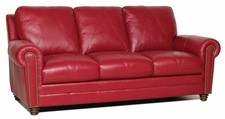 Luke Leather WESTON-S-2525-CHERRY WESTON-S SOFA in 2525 CHERRY Color