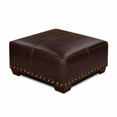 Madison House 0500-00TMO Marino Cocktail Gator Durahide Ottoman