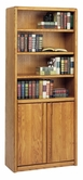 Martin Furniture 03070D Contemporary Bookcase with lower doors