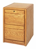 Martin Furniture 201 Contemporary 2-Drawer file