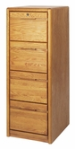 Martin Furniture 204 Contemporary 4-Drawer file