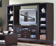 Martin Furniture EP360-491BR-974 Empire Entertainment Wall