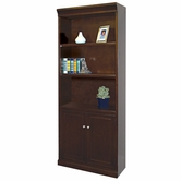 Martin Furniture FL3072D Fulton Lower Door Bookcase