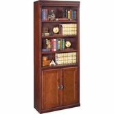 Martin Furniture HCR3072D Huntington Club Bookcase with lower doors