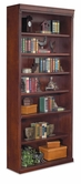 "Martin Furniture HCR3684 Huntington Club 84"" Open Bookcase"