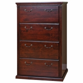 Martin Furniture HCR454 Huntington Club Four-drawer lateral file