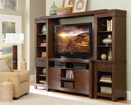 Martin Furniture IMMB360-491BR-970 Marbella Entertainment Wall