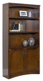 Martin Furniture MO3670D California Bungalow Bookcase with lower doors