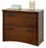Martin Furniture MO450 California Bungalow 2-Drawer lateral file